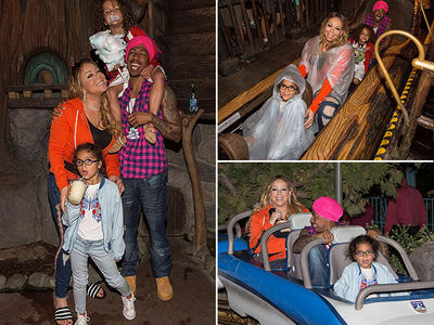 Mariah Carey & Nick Cannon Drop Fortune on Twins' 6th Bday at Disneyland (PHOTO GALLERY)
