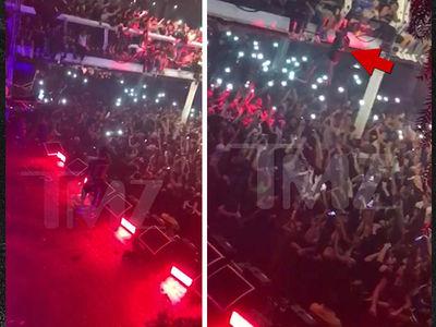 Travis Scott Fans Leap From Balcony in NYC (VIDEOS)