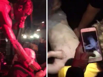 Travis Scott Did Not Encourage Injured Fan to Jump from Third Story at Concert (VIDEO)
