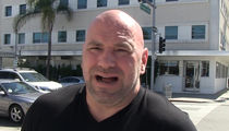 Dana White Says Anderson Silva Should Retire ... Title Shot Ain't Happening (VIDEO)
