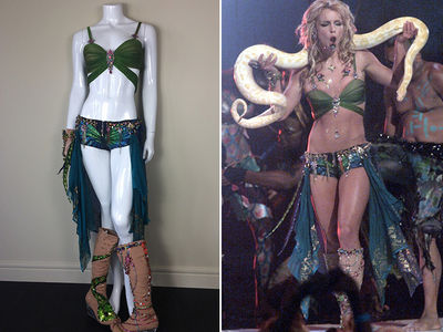 Britney Spears' VMAs 'Slave 4 U' Costume Hits eBay, Plus 6 Others (PHOTO GALLERY)