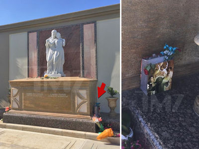 Carrie Fisher's Gravesite Peaceful, Force Still Strong on May the Fourth (PHOTOS + VIDEO)
