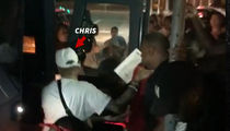 Chris Brown Finally Served with Karrueche Restraining Order (VIDEO)