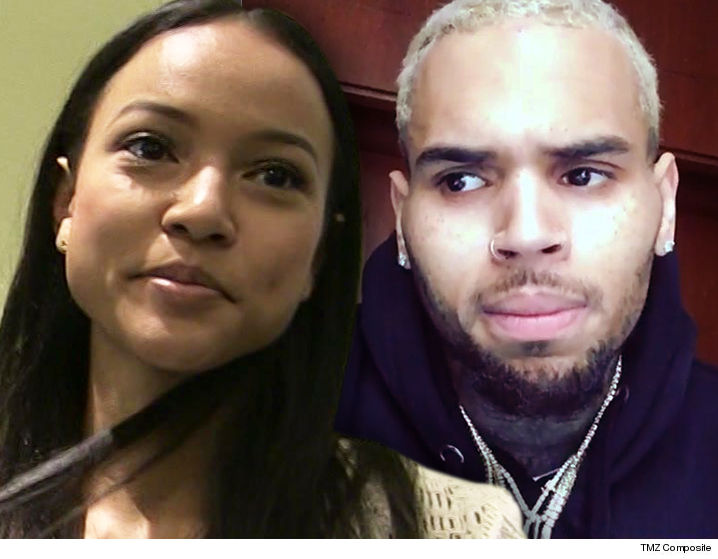 ... Karrueche Tran Ready For Courtroom Face-off with Chris Brown Over Death Threats