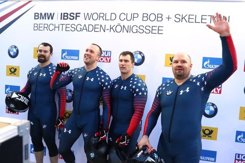 Steven Holcomb, Carlo Vades, James Reed and Samuel Mc Guffie