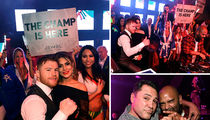 Canelo Alvarez Rages in Vegas After Destroying Julio Cesar Chavez Jr.