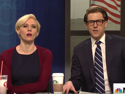 SNL Nails Joe Scarborough and Mika Brzezinski's Engagement on 'Morning Joe' Cold Open (VIDEO)