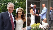 Senator Tim Kaine Officiates Wedding of Former Staffer in Virginia (PHOTOS)