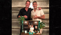 George Clooney and Rande Gerber Get Birthday Surprise from Amal (PHOTO)