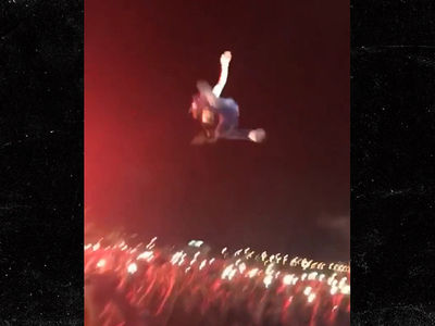 Lil Uzi Vert Jumps from 20 Foot Tent Into a Crowd During Rolling Loud Festival (VIDEO)