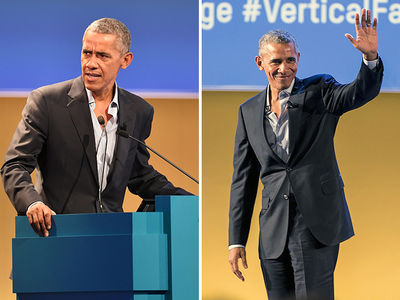 Barack Obama's a Buttoned-Down Guy at Food Summit in Milan (PHOTOS)