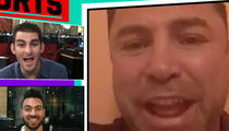 Oscar De La Hoya Tells Mayweather to Forget McGregor, Fight Winner of Canelo vs. Golovkin (VIDEO)