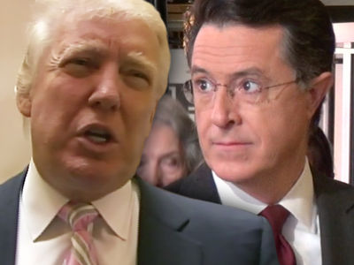 Donald Trump Calls Stephen Colbert 'No-Talent' Hack with 'Filthy' Mouth
