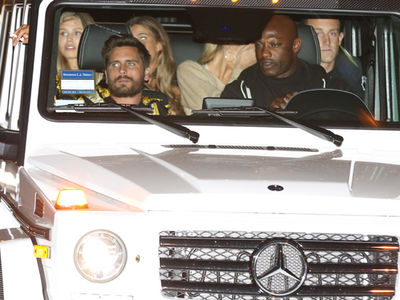 Scott Disick's Got a G-Wagon Full Of Babes!!! (PHOTO GALLERY)