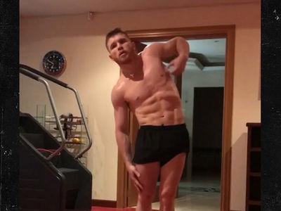 Canelo Alvarez Getting Even More Shredded for GGG Fight (VIDEO)