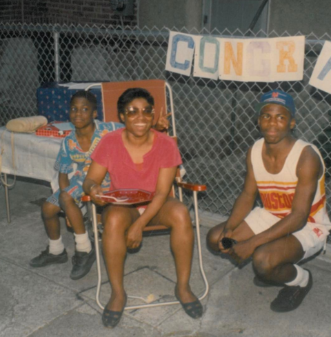 Kevin Hart got sentimental posting a throwback of the good ol' days with his momma.