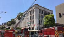 Lisa Vanderpump's Restaurant Evacuated During Fire (PHOTOS)