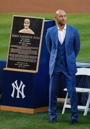 Derek Jeter's Yankees Ceremony