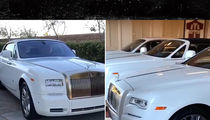 Floyd Mayweather Keeps $3 Mil Rolls-Royce Collection at Vegas Mansion (VIDEO)