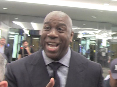 Lakers' Magic Johnson 'Excited' About #2 Pick, Won't Commit to Lonzo Ball (VIDEO)