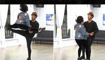 Fifth Harmony Singer Normani Kordei Twists Ankle Before 'DWTS' Finale (VIDEO)