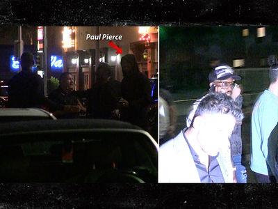 Paul Pierce & Von Miller Leave Hollywood Hot Spot During Murder Investigation (VIDEO)