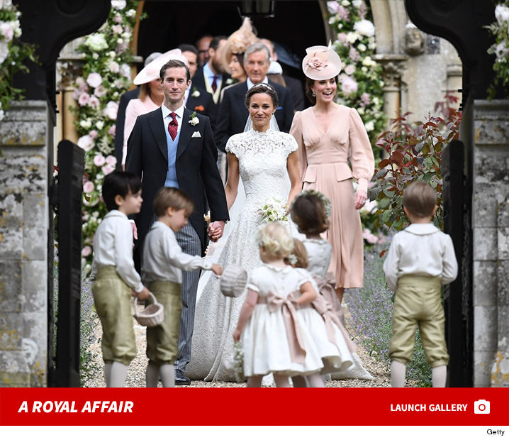pippa middletons wedding at st marks church with royal family and roger federer photo gallery