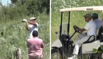 Barack Obama Golfs in Tuscany (VIDEO)