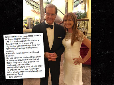 Former Bond Girl Jane Seymour Remembers Roger Moore (PHOTO)