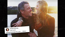 Lance Armstrong Engaged to Longtime Girlfriend (PHOTO)