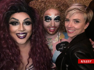 Scarlett Johansson Drags Katy Perry's Drag Queens into 'SNL' After-Party (PHOTO)