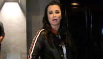 Kyle Richards Says Don't Judge Conrad Hilton (VIDEO)