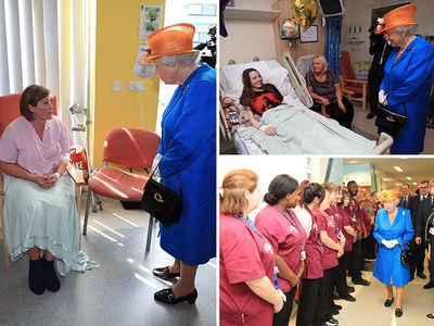 Queen Elizabeth Visits Manchester Bombing Victims in Hospital (PHOTO GALLERY)