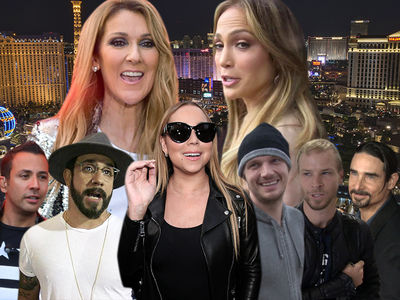 Celine Dion, J Lo, Mariah Carey and Backstreet Boys Not Backing Down in Wake of ISIS Threats