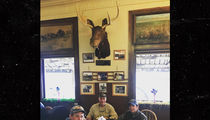 Donald Trump Jr. Did Some Huntin' and Eatin' with Gianforte (PHOTOS)