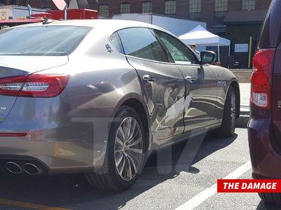 Taraji P. Henson Crashes Maserati into Fire Hydrant on Movie Set (PHOTOS)