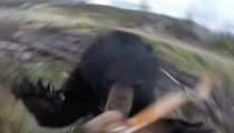 Bear Attacks Hunter, Hunter Somehow Survives (VIDEO)
