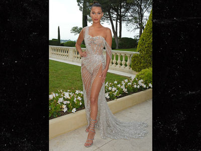 Bella Hadid Nearly Naked, 'Cause She Cannes (PHOTOS)