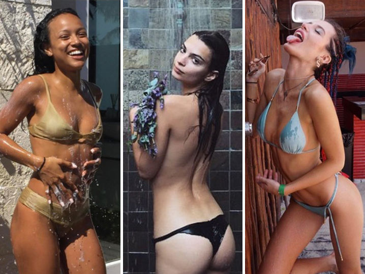Babes in the Shower -- Lather, Rinse, Repeat! (PHOTO GALLERY)