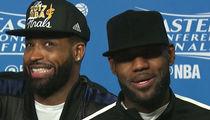 LeBron James Finally Admits He's Going Bald (VIDEO + PHOTOS)