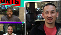 Max Holloway to Conor McGregor: I'm the Champ Now! (VIDEO)