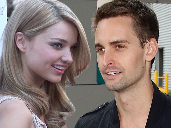 Miranda kerr marries snapchat founder evan spiegel in - Evan spiegel miranda kerr ...