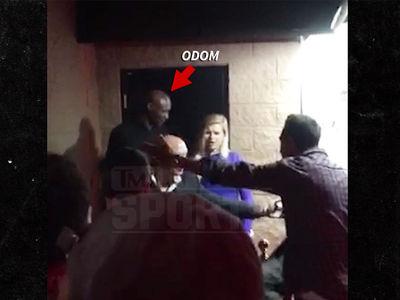Lamar Odom Denied at San Fernando Valley Strip Club (VIDEO)