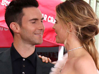 Feeling Cheeky! Adam Levine's Wife Just Posted a Totally Naked Photo of the Singer