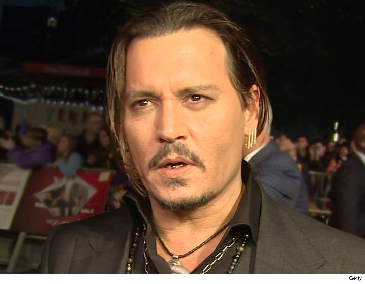 Johnny Depp Blindsided...