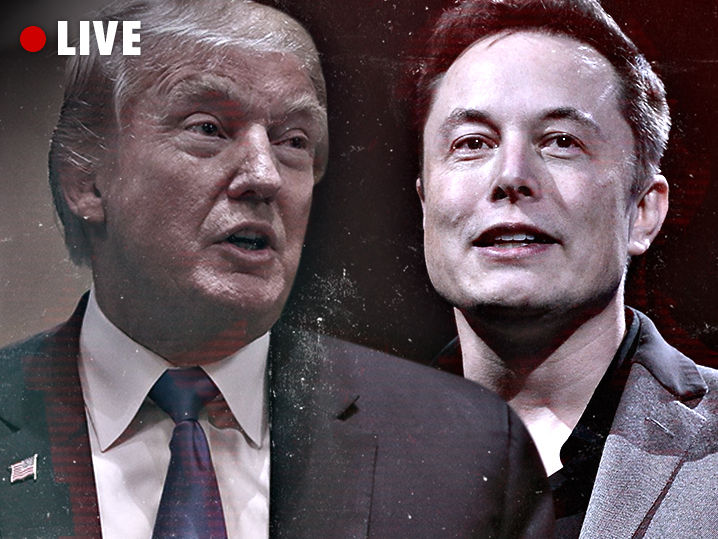 TMZ Live: Elon Musk Supports Donald Trump's Moon Mission