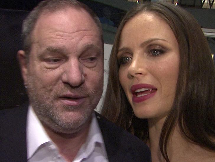 Harvey Weinstein and Wife Georgina Strike Divorce Settlement