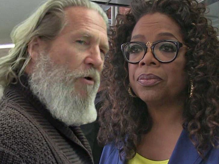 Oprah's Next Door Neighbor Jeff Bridges, Home Wrecked in Mudslide