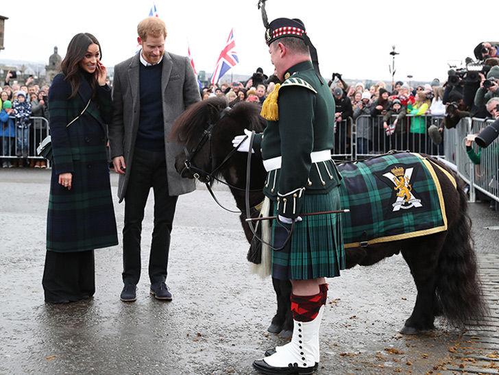 Prince Harry and Meghan Markle Visit Scotland