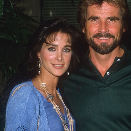 """Hotel"" star Connie Sellecca (with co-star James Brolin) back in the day."